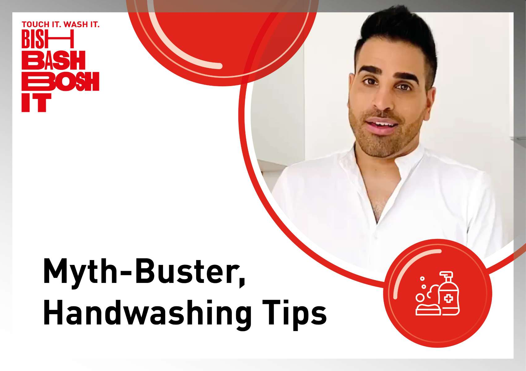 Dr Ranj Handwashing tips